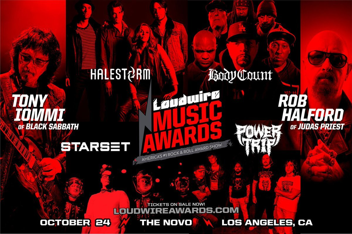 Loudwire Music Awards 2017 : stream en direct sur le web ce soir!
