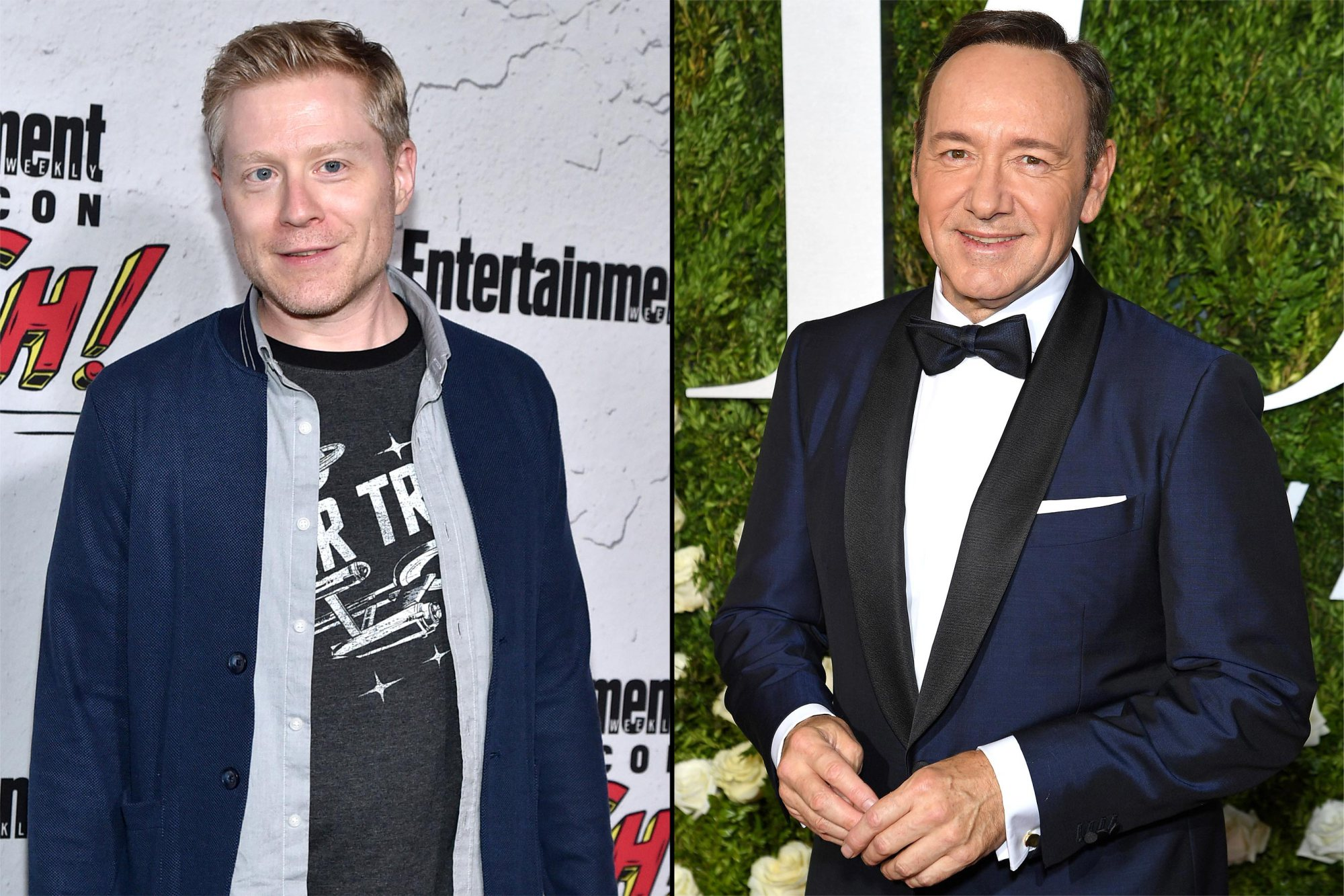 Anthony Rapp et Kevin Spacey