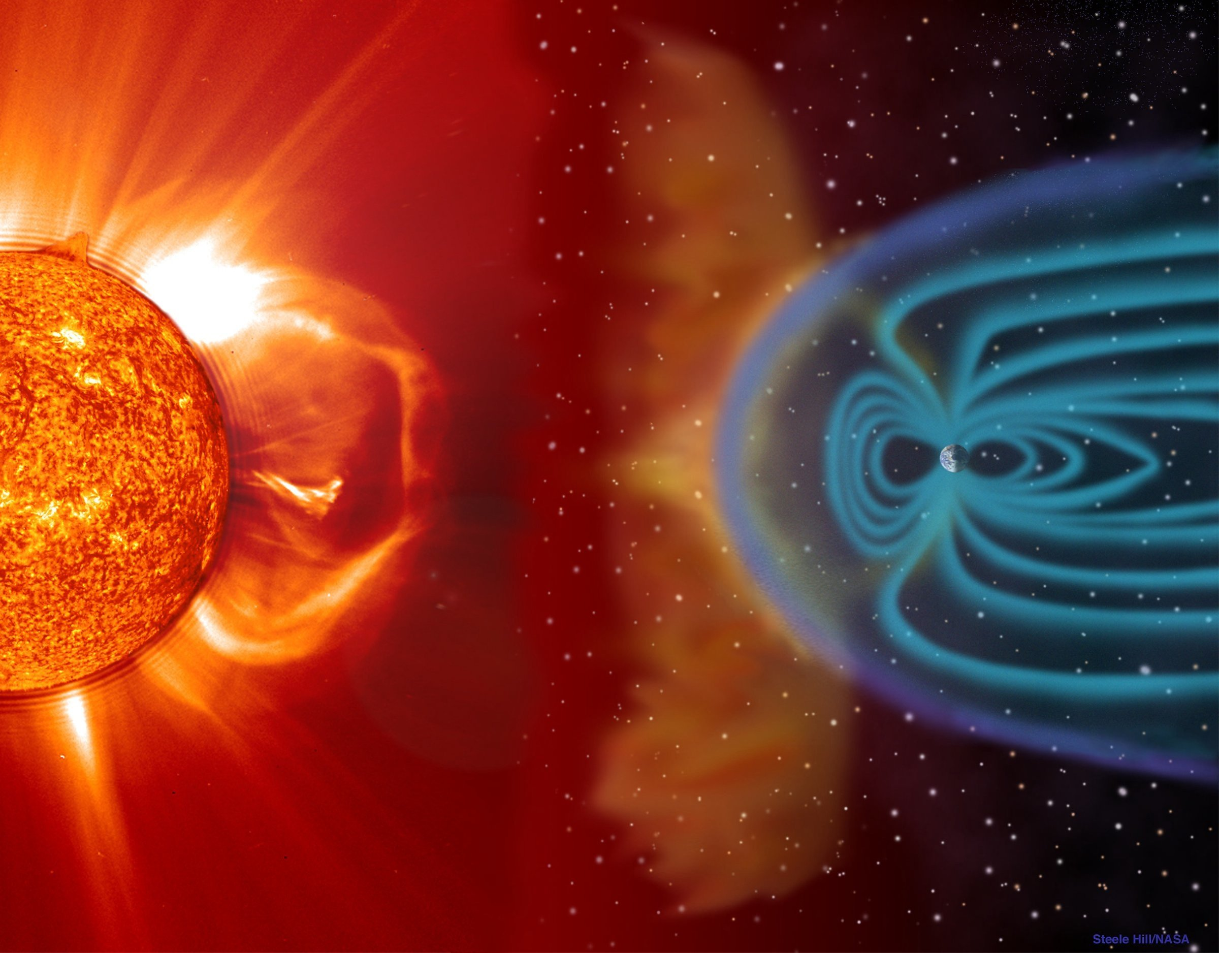 tempête solaire