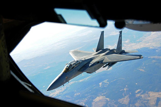 Utah Air National Guard refuels F-15 Eagles