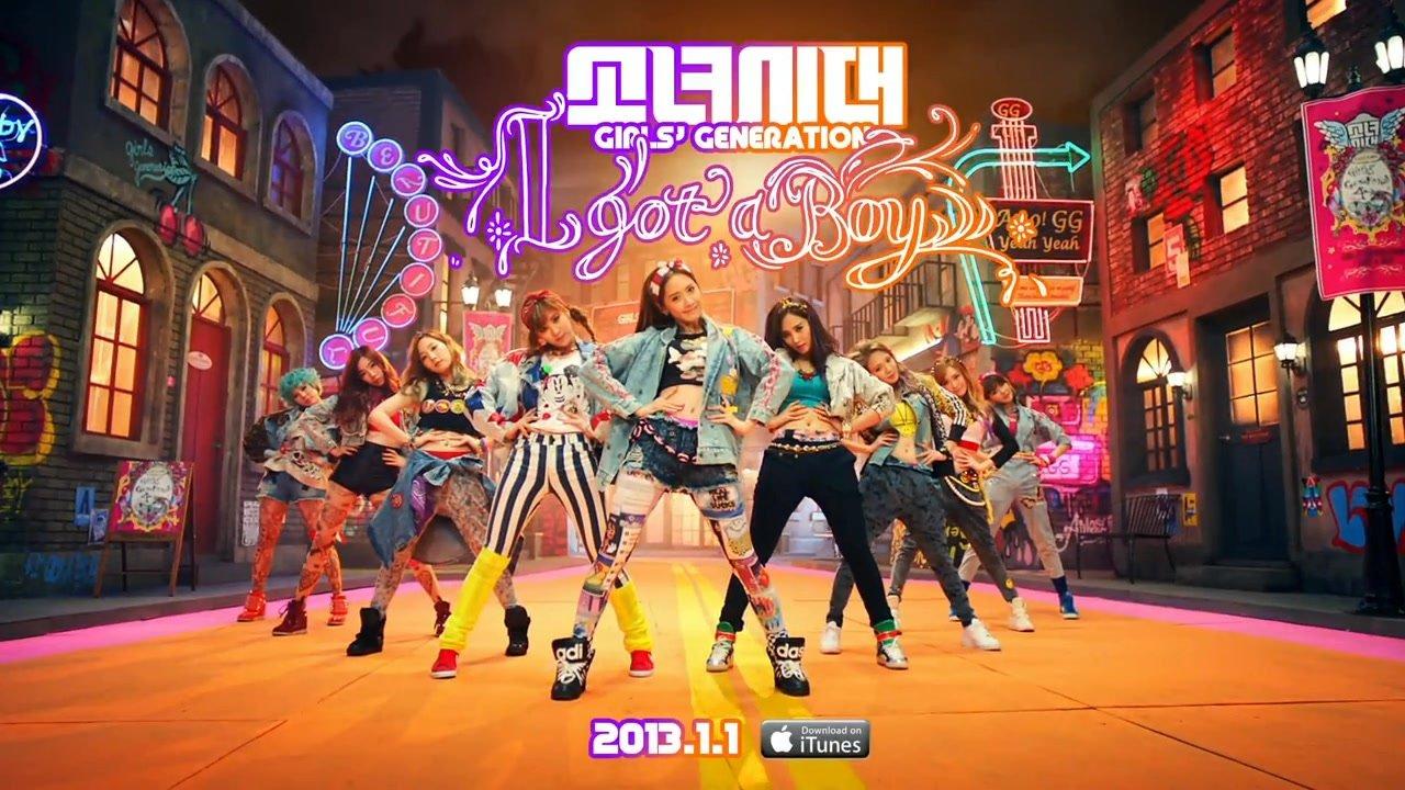 Girls' Generation: le clip I Got