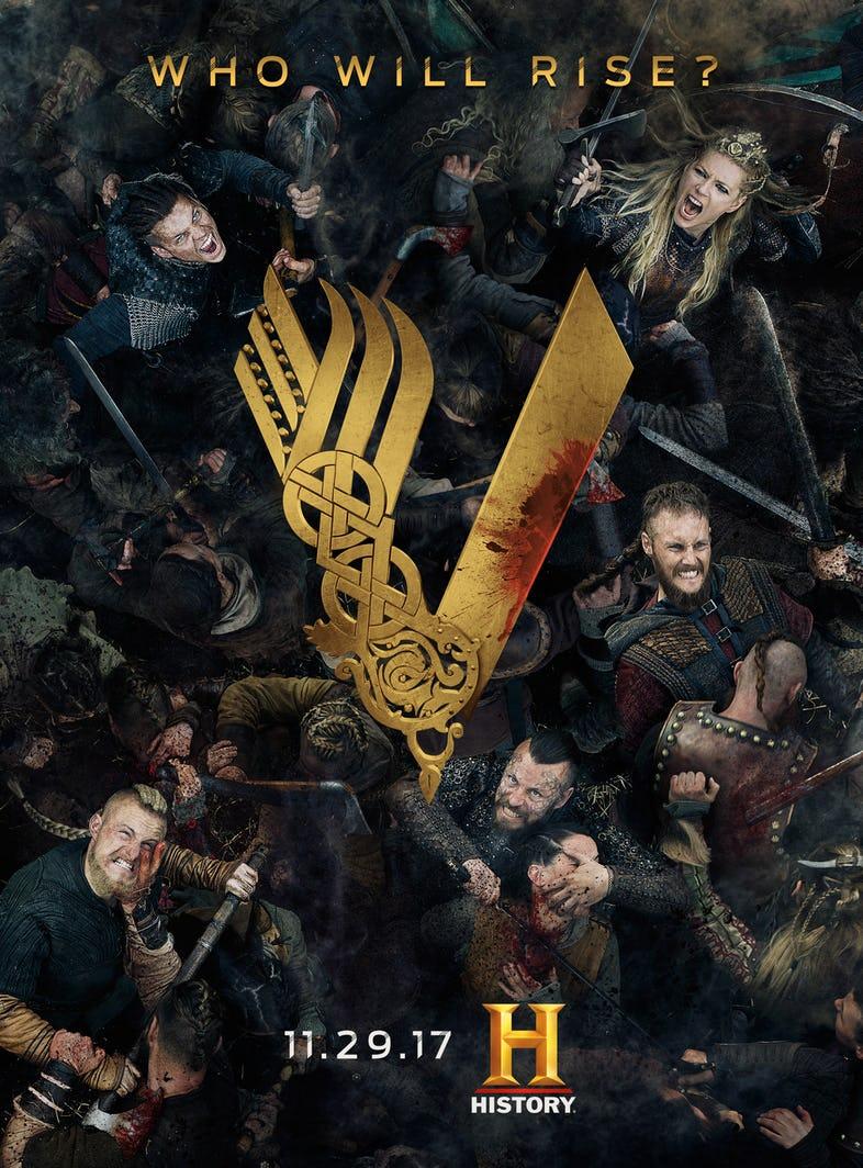 Vikings saison 5 poster