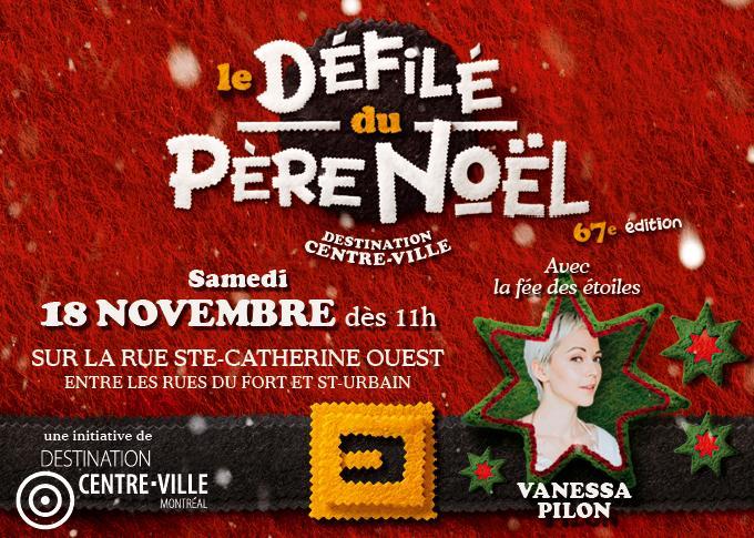 Défilé du Père Noël Destination centre-ville