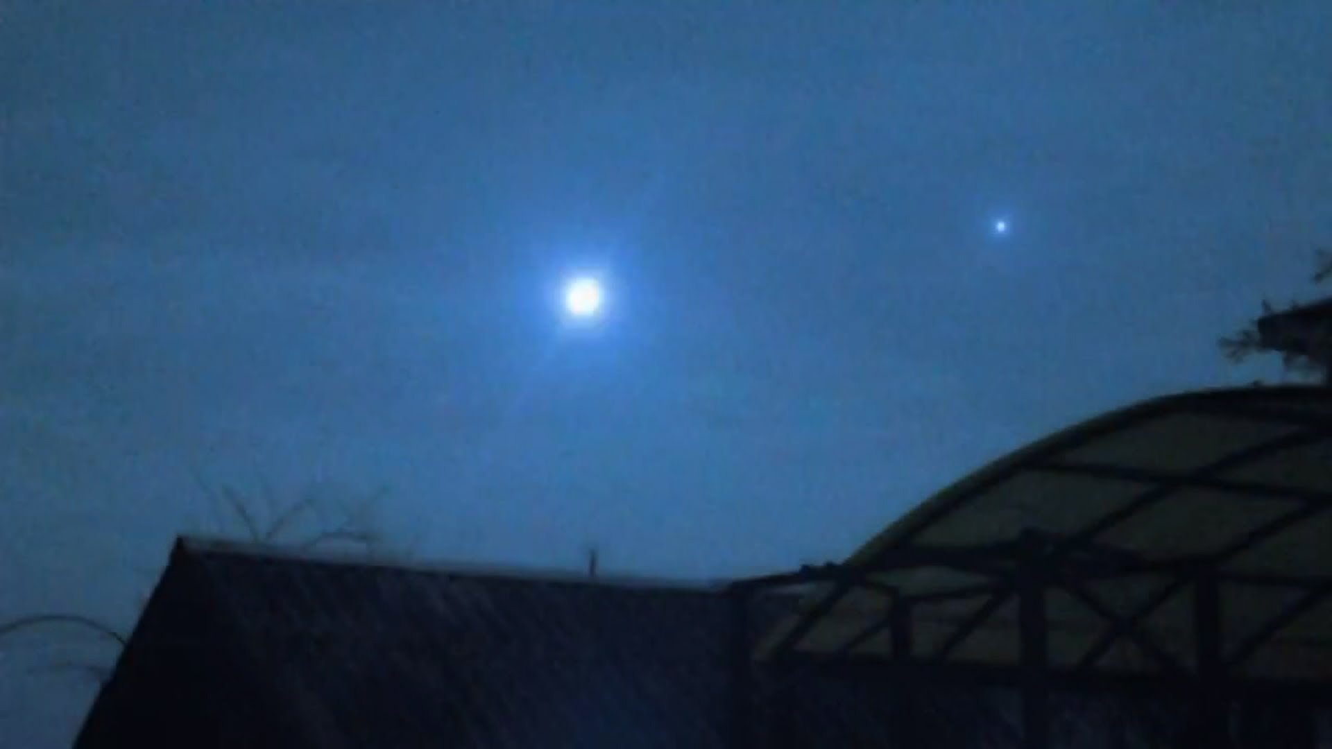 Un OVNI au dessus de Brossard, au Quebec??