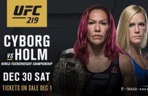 UFC 219: Cyborg vs Holm: stream et en direct sur Indigo