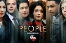 For The People: ABC dévoile un nouveau trailer pour sa nouvelle série