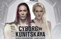 UFC 222: Cyborg vs Kunitskaya streams et en direct sur Indigo