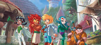 Les Légendaires: la série animée en primeur nord-américaine chez Télé-Québec
