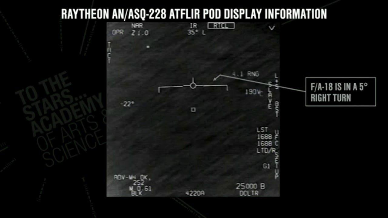 USG Footage of UAP