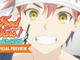 Food Wars! The Third Plate: le studio J.C. STAFF présente un trailer