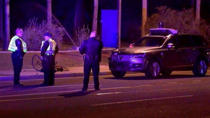 Uber: la police publie une vidéo de la collision du véhicule autonome