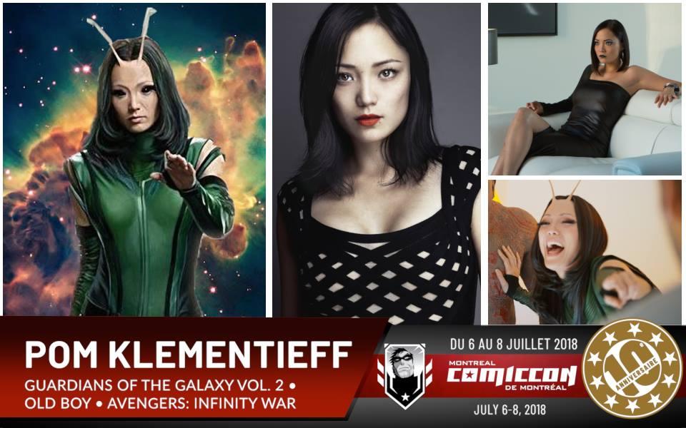 Avengers: Infinity War: Pom Klementieff sera au prochain Comiccon