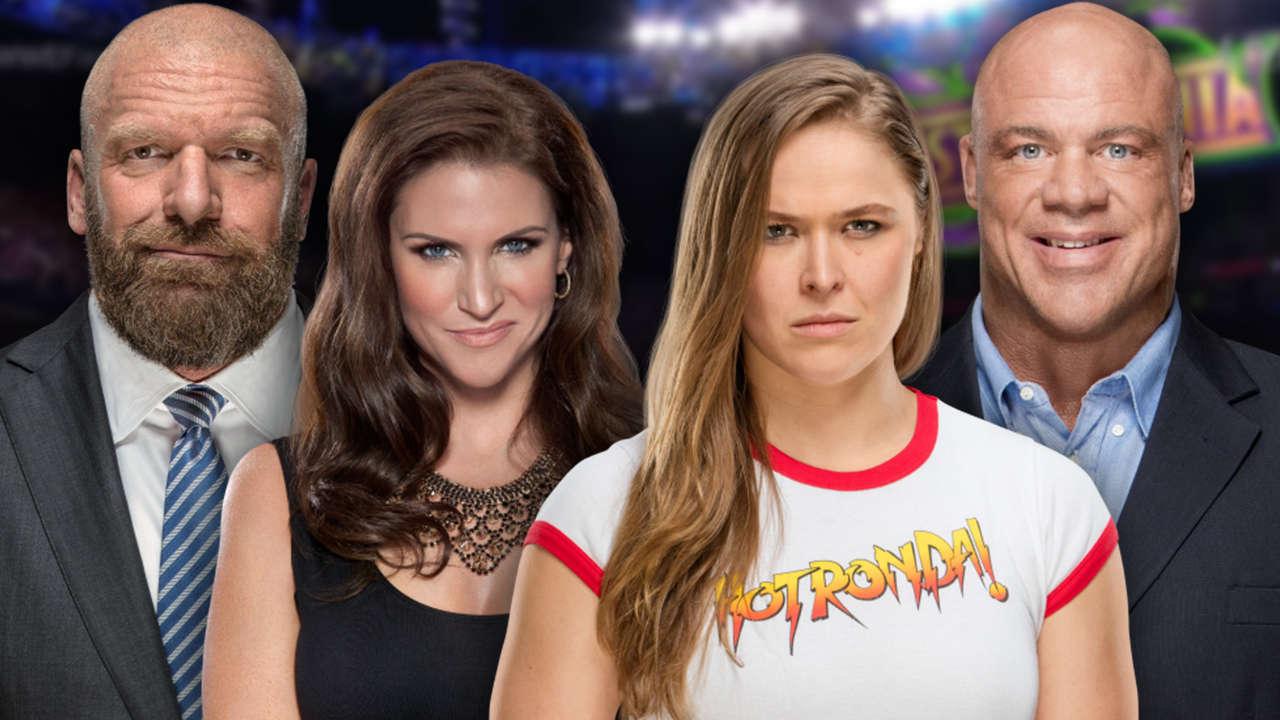WrestleMania 34 Ronda Rousey