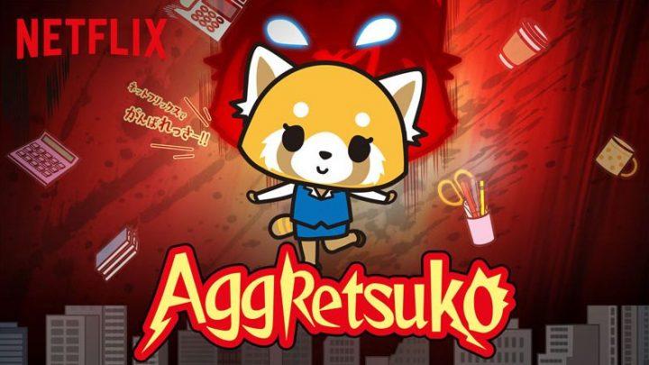 Aggretsuko est la série la plus metal sur Netflix!