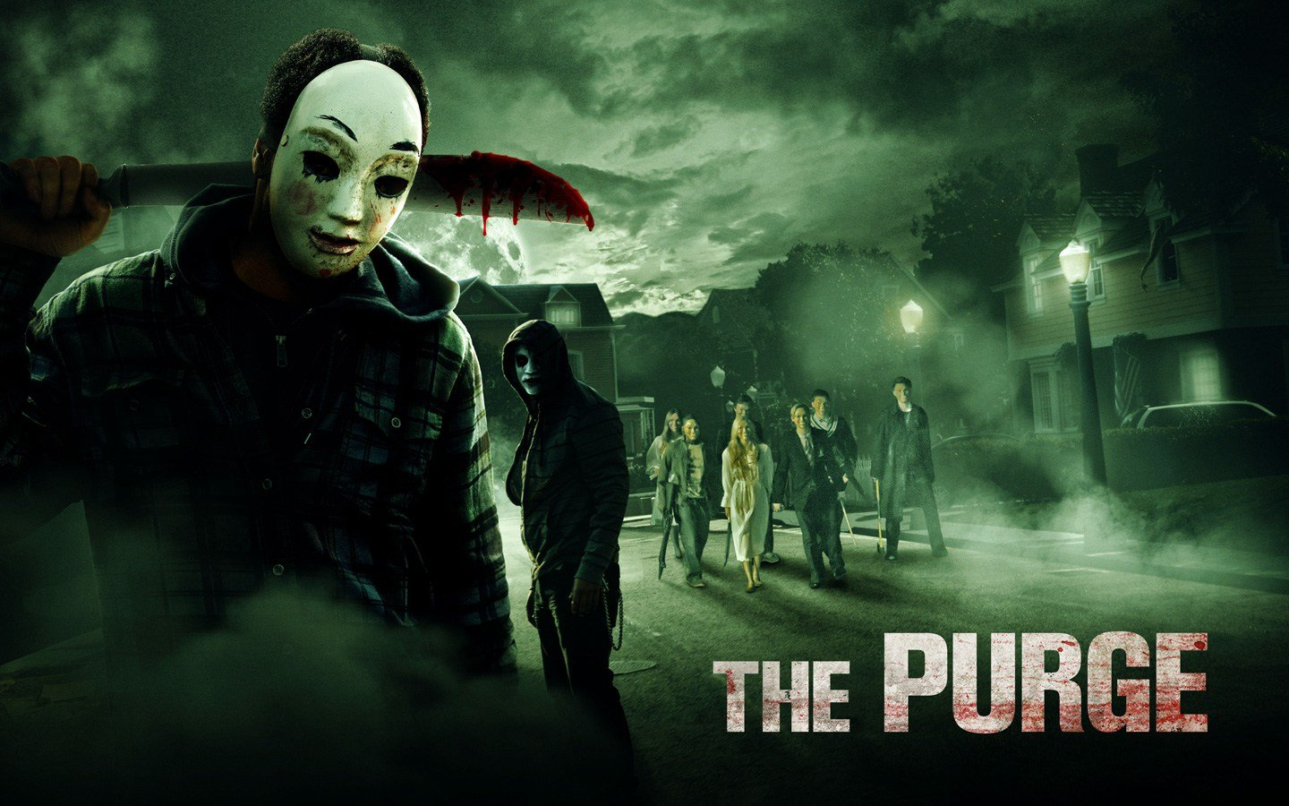 The First Purge 2018 Movie Wallpapers: The Purge: William Baldwin Se Joint à La Série USA Network