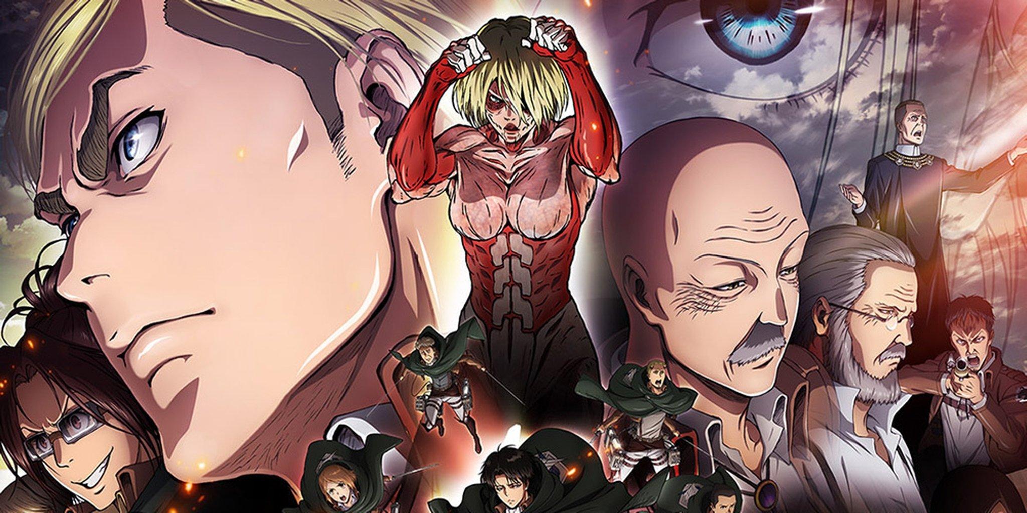 Attack on Titan saison 3