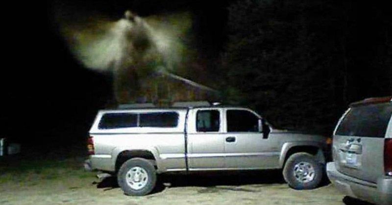 Un chef des pompiers croit avoir photographié un ange