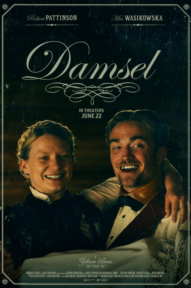 Damsel: une comédie western avec Robert Pattinson et Mia Wasikowska