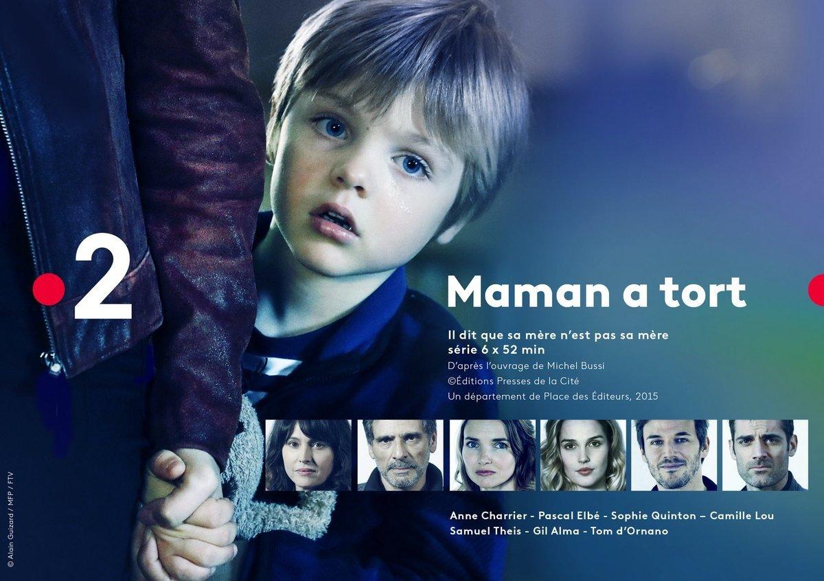 Maman a tort: l'adaptation du livre de Michel Bussi arrive sur France 2
