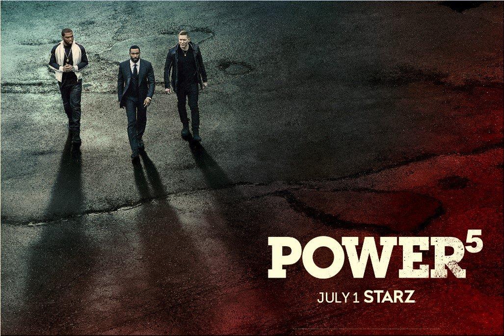 Power saison 5: Starz dévoile la bande-annonce officielle