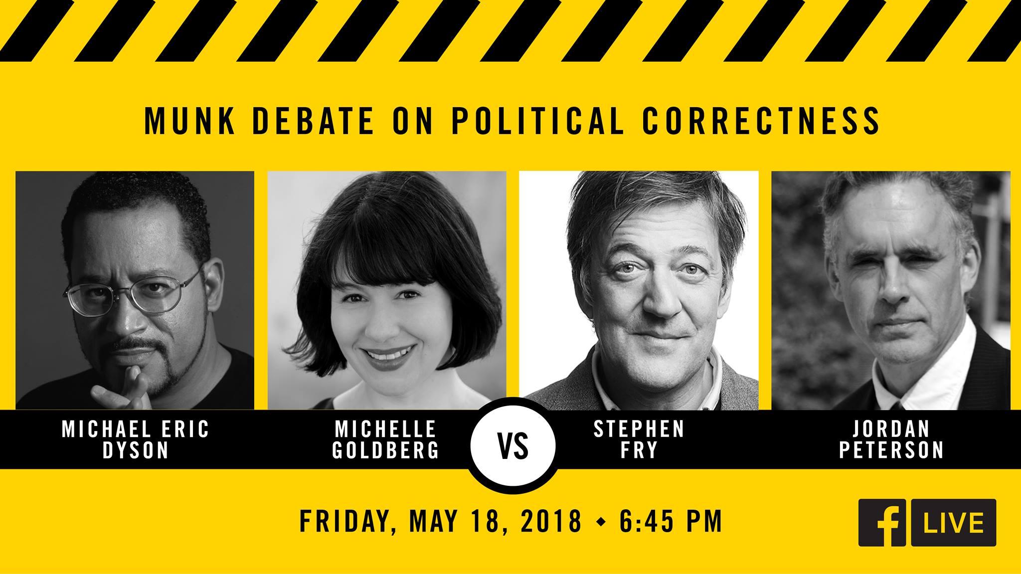 The Munk Debates: Jordan Peterson va débattre sur le politiquement correct