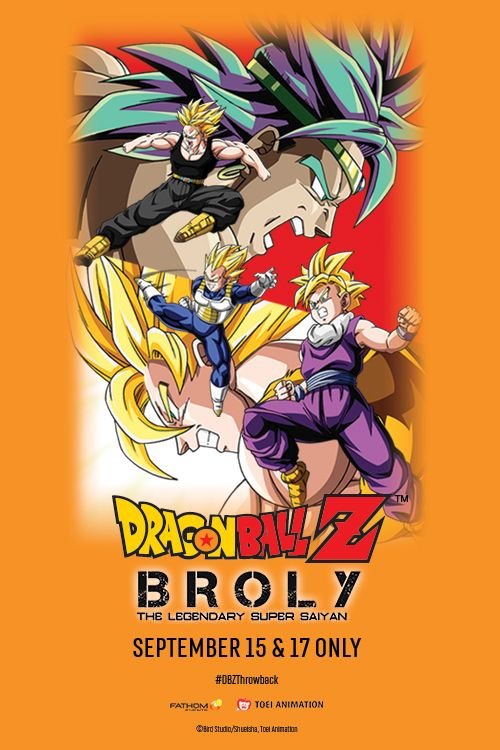 Dragon Ball Z Broly – The Legendary Super Saiyan