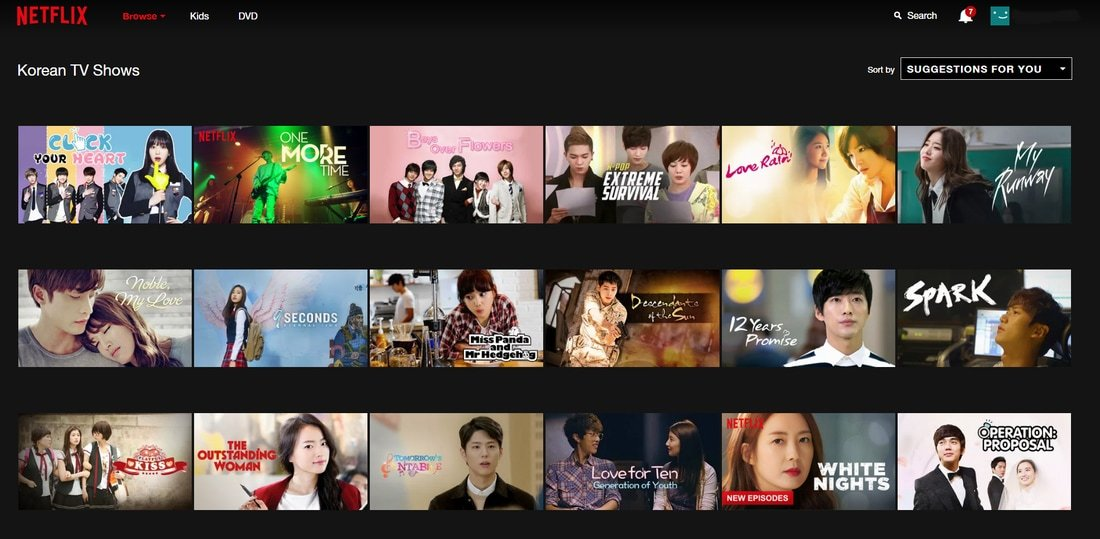 Liste de dramas asiatiques Jdramas, Kdramas, Cdramas sur Netflix