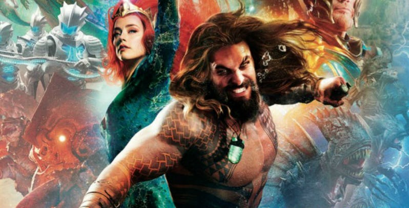 Aquaman: un premier trailer dévoilé au San Diego Comic-Con