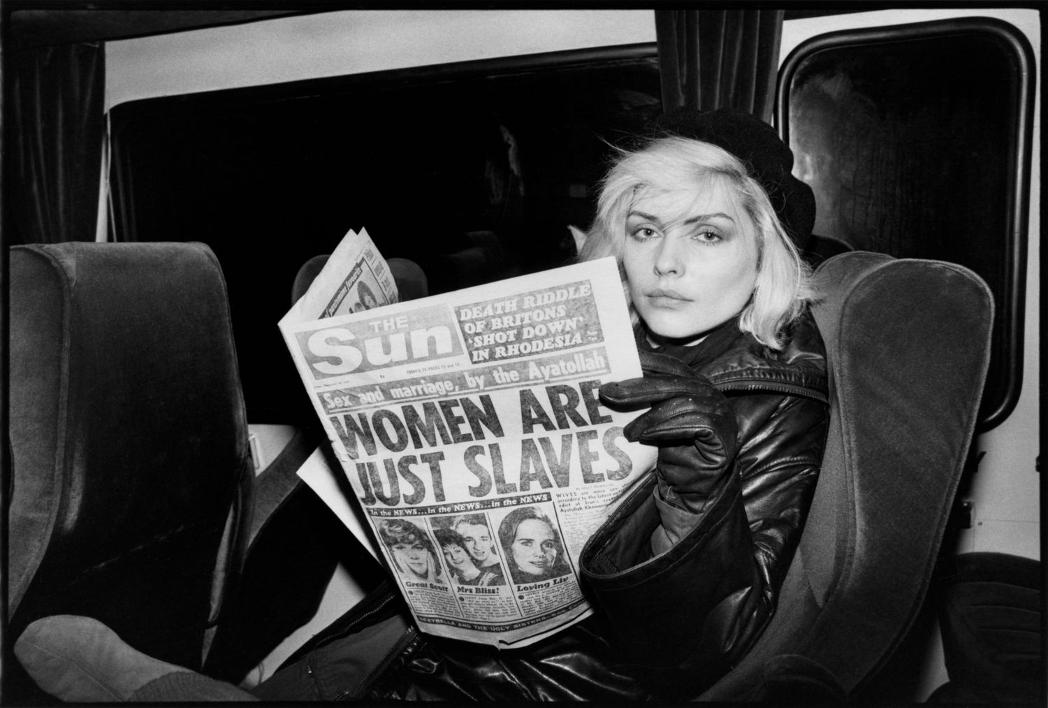 Debbie Harry, Atomic Blondie