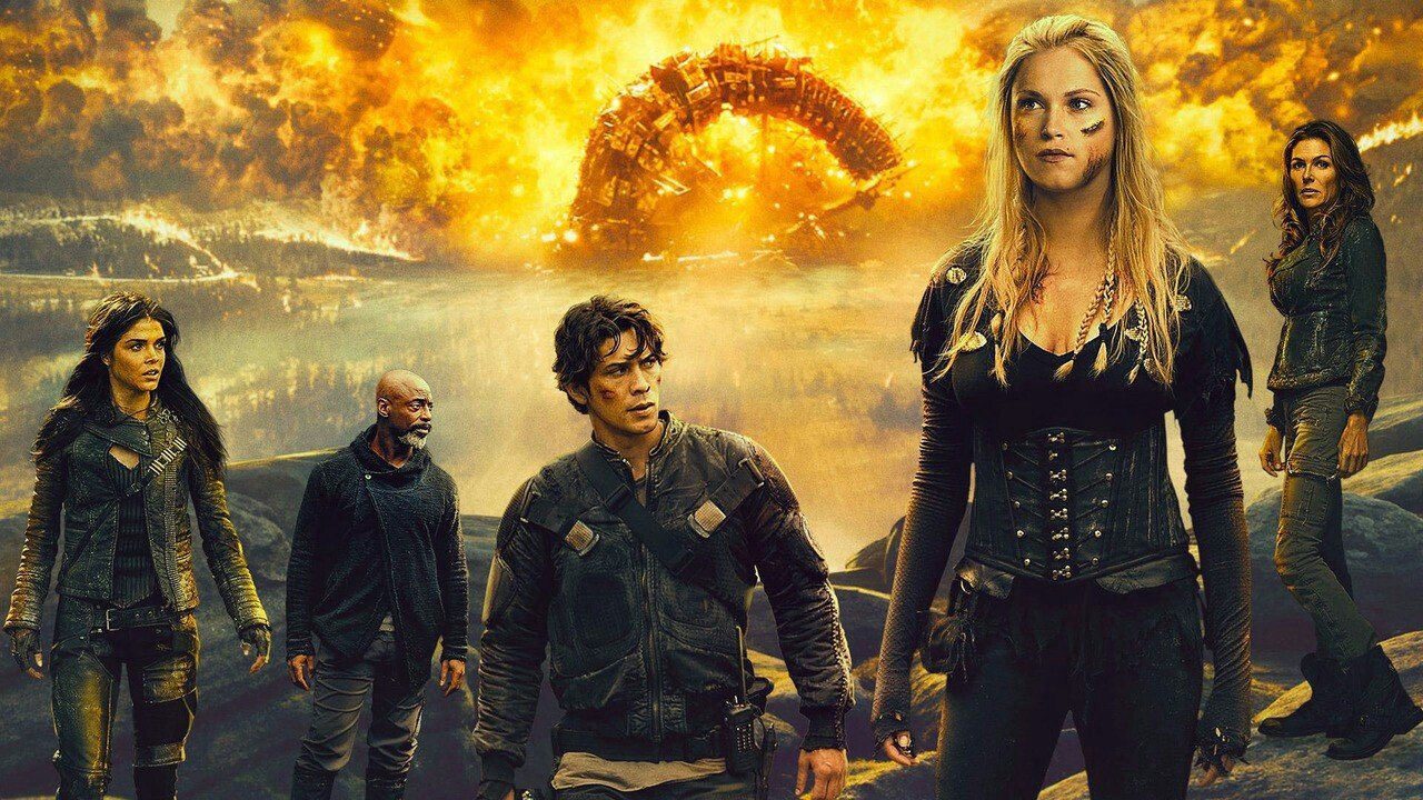 The 100 Netflix Season 6  Forbidden Planet, Honey West Star Anne