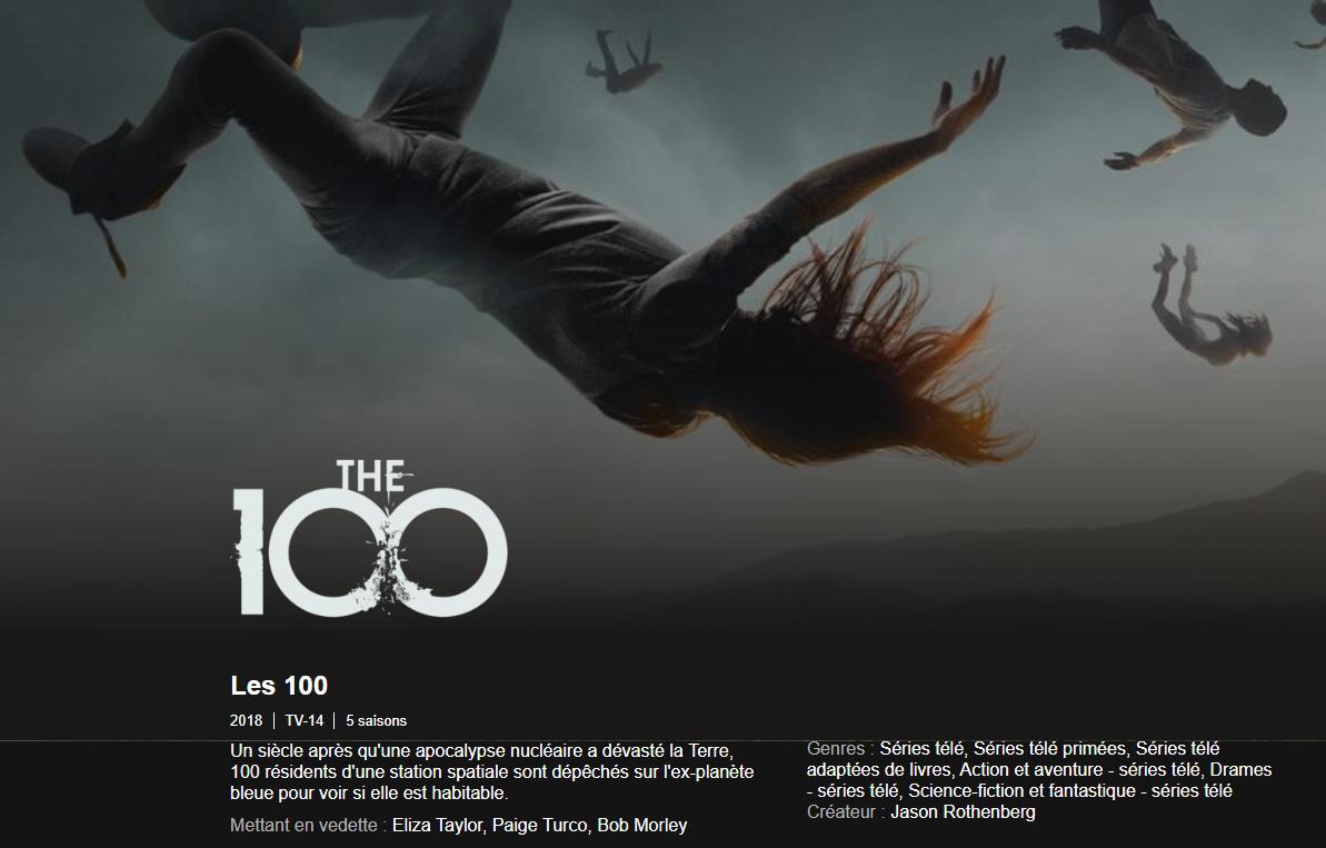 Les 100 saison 5 : la série The 100 est de retour sur Netflix