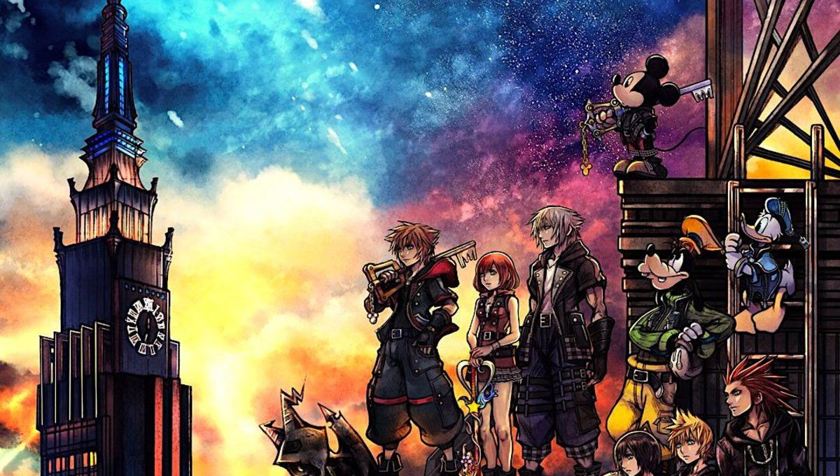 Kingdom Hearts Keyblade Wallpaper Hd