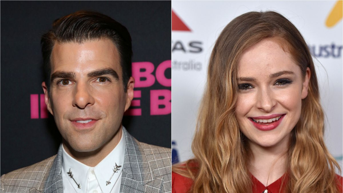 Zachary Quinto et Ashleigh Cummings