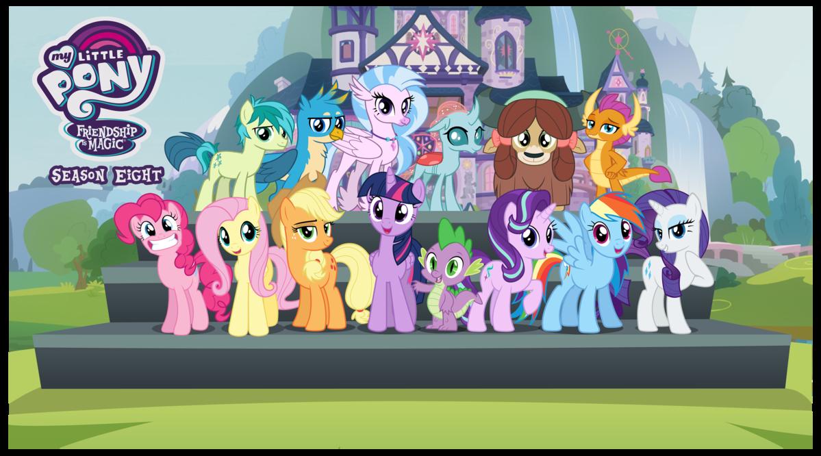 My Little Pony  Les amies, c'est magique saison 8