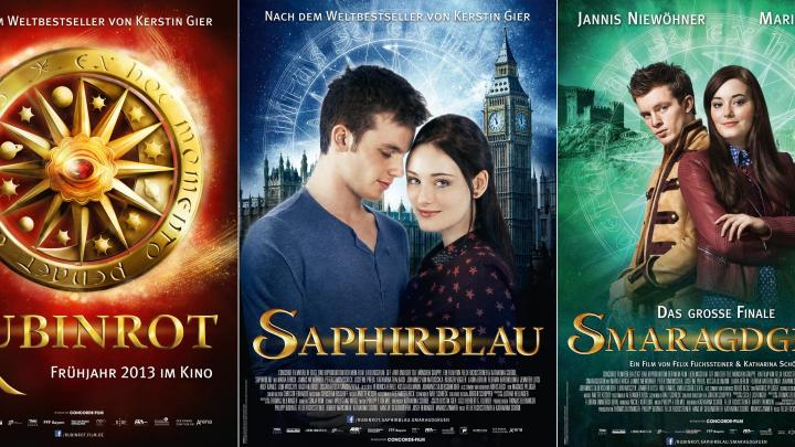 Rouge Rubis, Vert Emeraude et Bleu Saphir sont sur Netflix