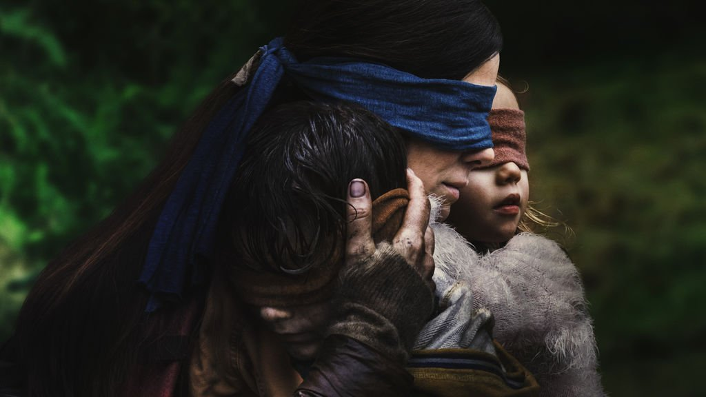 Froid aux yeux - Bird Box