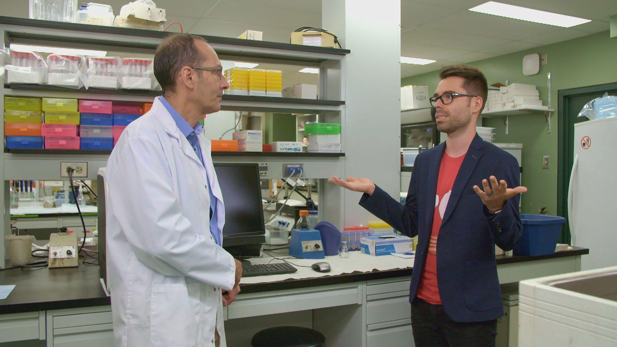 Les Aventures du Pharmachien saison 3: Olivier Bernard revient sur EXPLORA