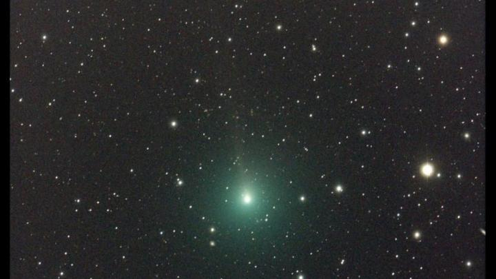 La comète 46P/Wirtanen va être visible à l'oeil nue la semaine prochaine