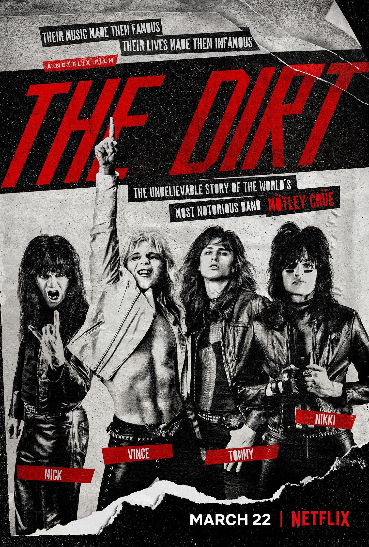 The Dirt : les coulisses de Mötley Crüe