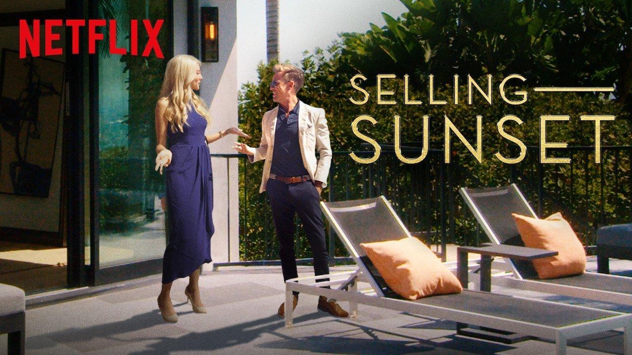 Du soleil à revendre la série réalité Selling Sunset est sur Netflix