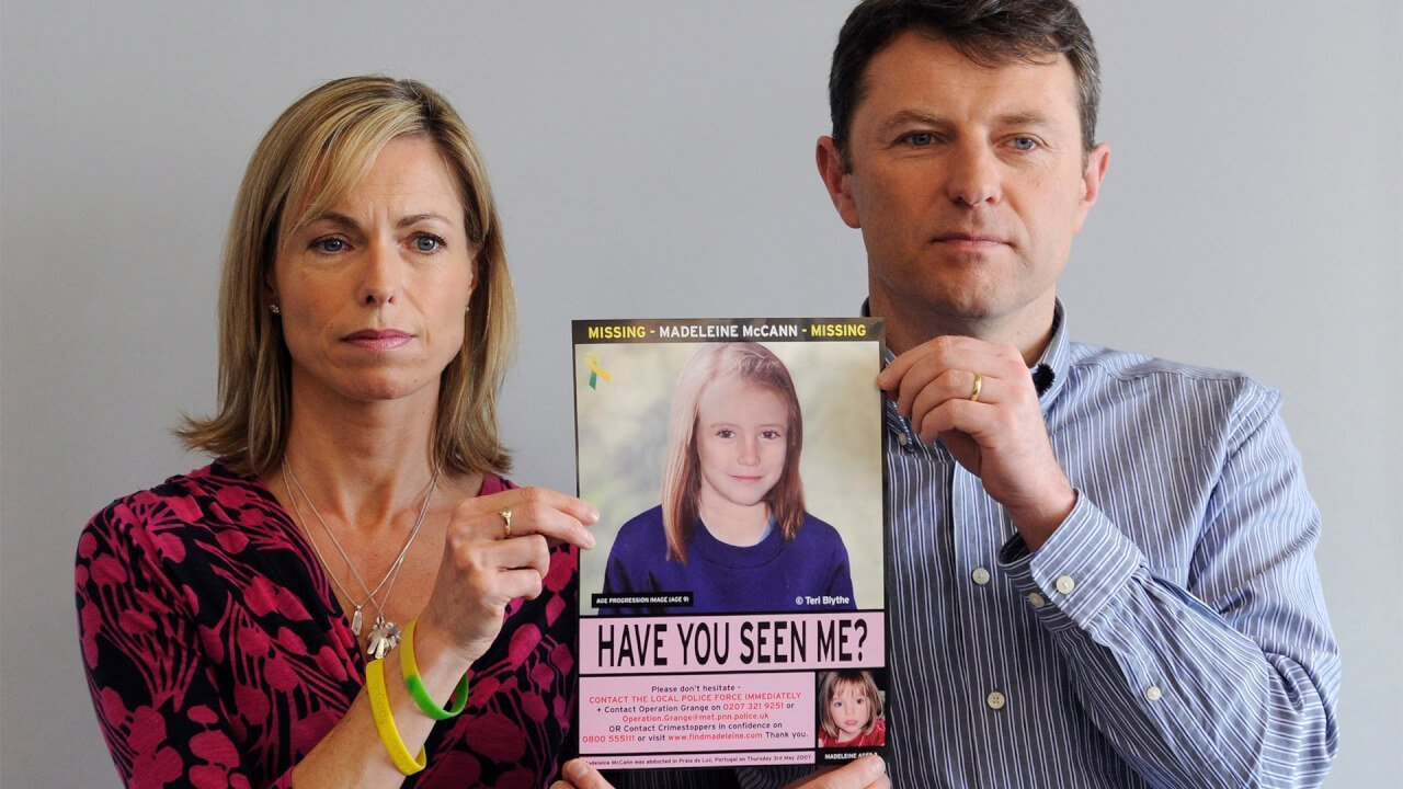 La disparition de Maddie McCann