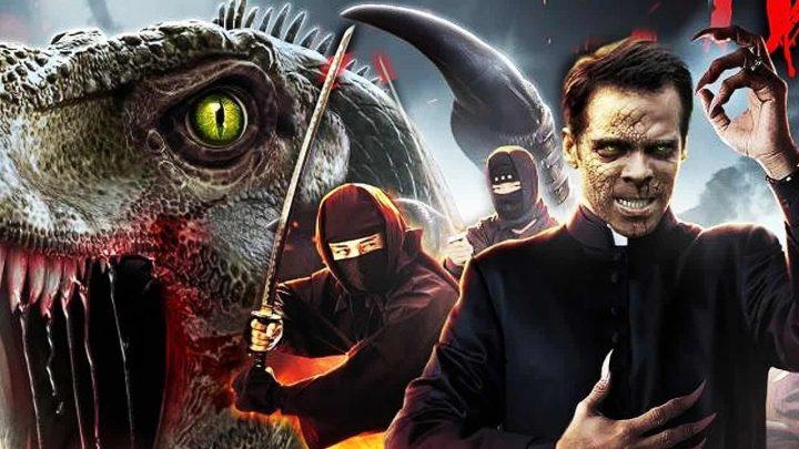 The Velocipastor: un prêtre se transforme en dinosaure pour combattre des ninjas