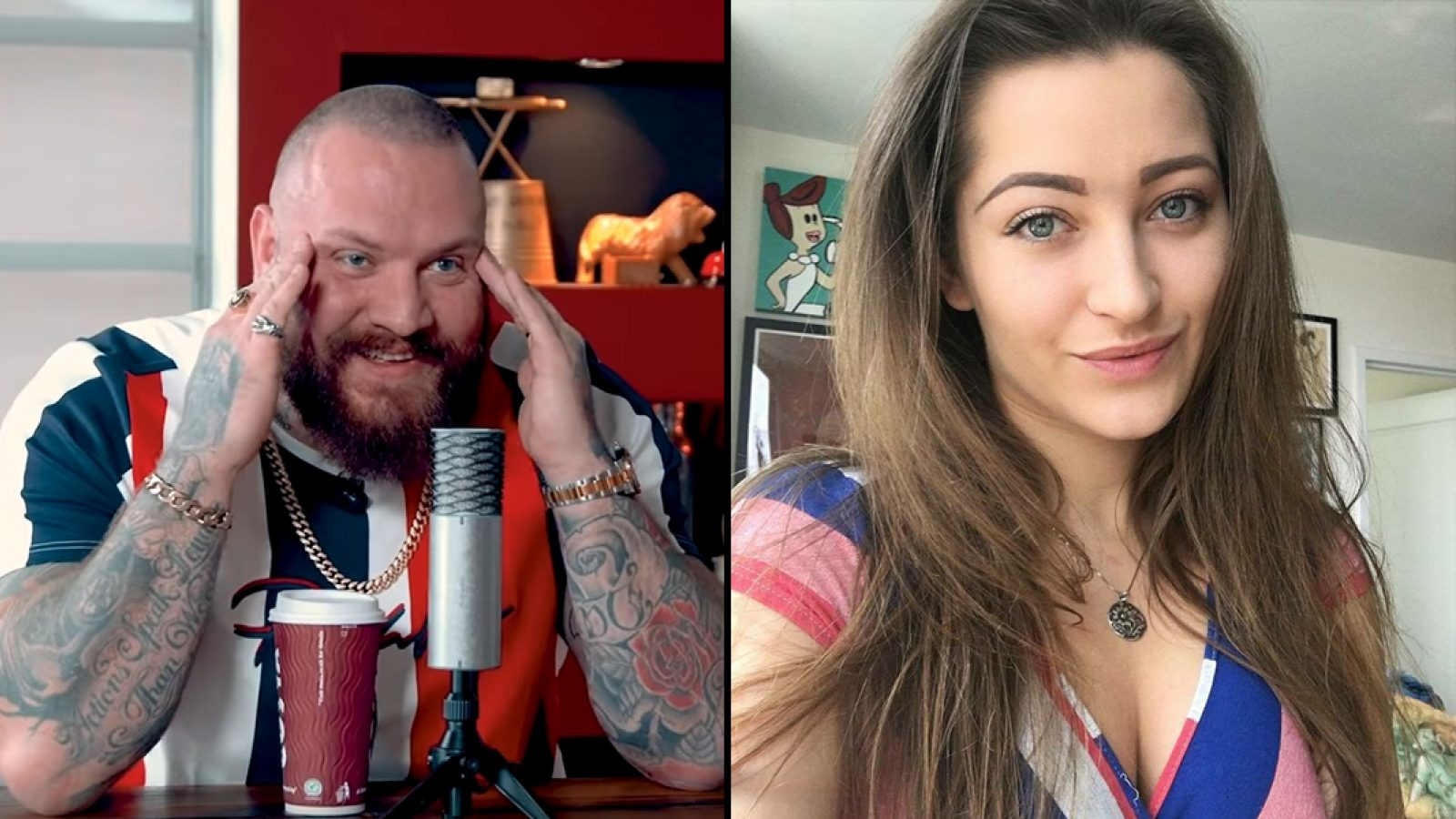 True Geordie reçoit la camgirl Dani Daniels à son podcast