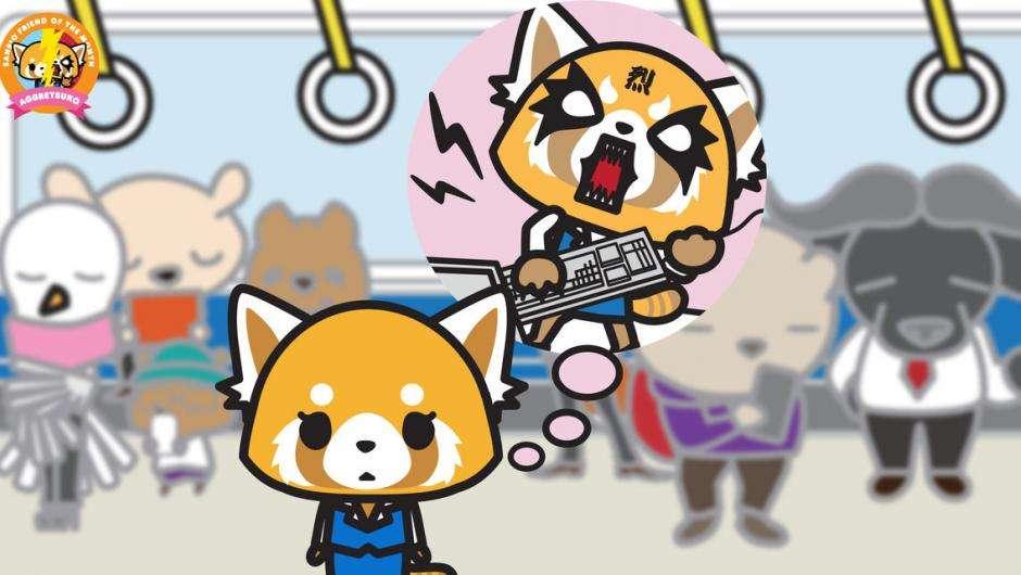 Aggretsuko saison 2: la panda la plus metal au monde est de retour