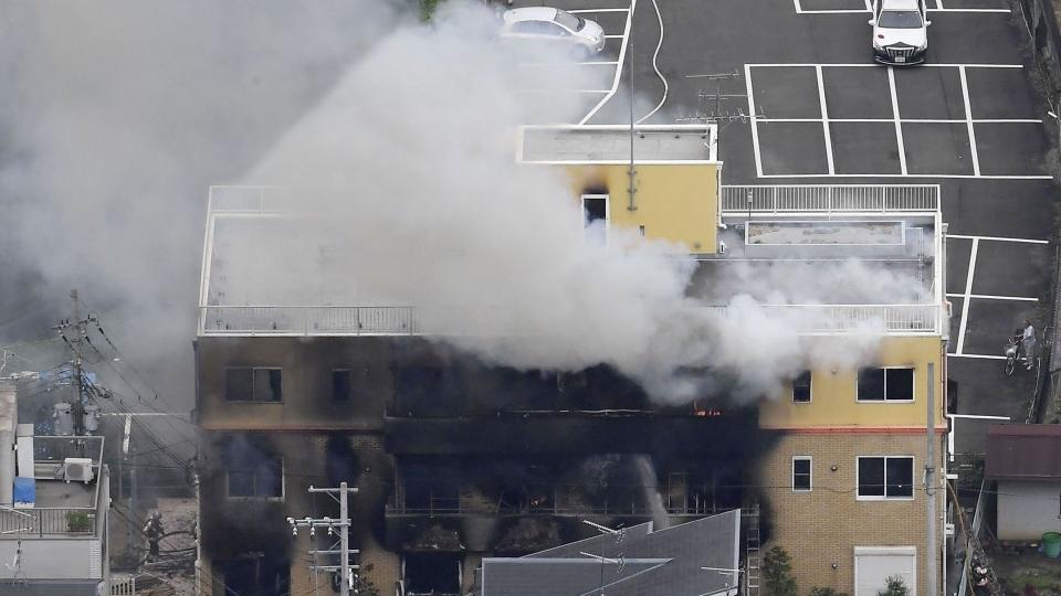 Kyoto Animation: un incendie criminel fait au moins un mort