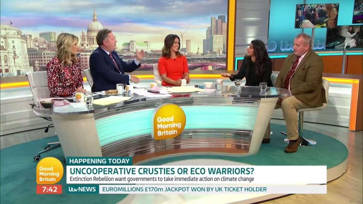 Piers Morgan dévoile l'hypocrisie derrière Extinction Rebellion