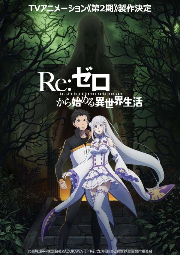 Re:ZERO -Starting Life in Another World–